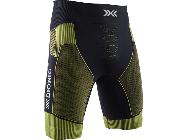 X-Bionic Effektor G2 Pantaloncini da corsa Uomo, nero/verde